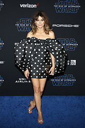 Keri Russell at the World premiere of Disney's 'Star Wars: The Rise Of Skywalker' held at the Dolby Theatre in Hollywood, USA on December 16, 2019.