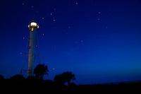 The Boca Grande Lighthouse on Florida's Gulf Coast on Gasparilla Island.