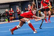 CANTERBURY V TARANAKI<br /> U15 Premier Girls Hockey <br /> Blake Park<br /> Tauranga<br /> 26 September to 3 October 2016<br /> Photo Annette Johnson<br /> CMGSPORT<br /> © www.cmgsport.co.nz