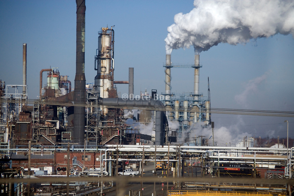 oil refinery industrial factory plant USA