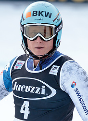 29.12.2017, Stelvio, Bormio, ITA, FIS Weltcup, Ski Alpin, alpine Kombination, Slalom, Herren, im Bild Nils Mani (SUI) // Nils Mani of Switzerland during the Slalom competition for the men's Alpine combination of FIS Ski Alpine World Cup at the Stelvio course, Bormio, Italy on 2017/12/29. EXPA Pictures © 2017, PhotoCredit: EXPA/ Johann Groder