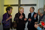 FAITH BROOK; SHEILA HANCOCK; MURRAY MELVIN; RITA DAVIES;  The Actors Centre's 30th Birthday Party. 1a Tower St, Covent Garden. London. 2nd November<br /> *** Local Caption *** -DO NOT ARCHIVE -Copyright Photograph by Dafydd Jones. 248 Clapham Rd. London SW9 0PZ. Tel 0207 820 0771. www.dafjones.com