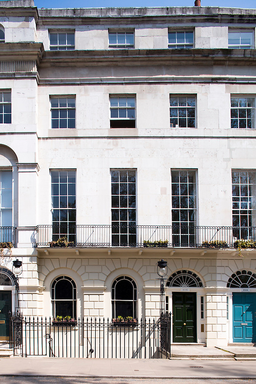 Georgian Group HQ at Fitzroy Square London