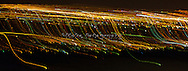 Coming into Phoenix, Arizona from the West, at 1:30 am.  The city lights are just amazing.