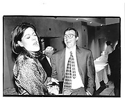Anna Pasternak, Andrew Morton, Andrew Neil book party Daphine's Draycott Ave, London 28/10/96© Copyright Photograph by Dafydd Jones 66 Stockwell Park Rd. London SW9 0DA Tel 020 7733 0108 www.dafjones.com