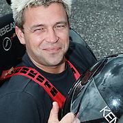 Start site Racetrack.nl Lelystad, Bennie de Haan in een Donkervoort racewagen