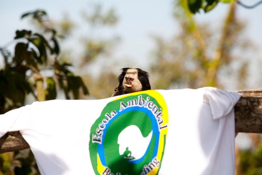 Vila Velha_ES, Brasil...Projeto Educacao Ambiental Bady Boarding, Morro do Moreno Espirito Santo...The Bady Boarding Environmental Education Project in Morro Moreno, Espirito Santo...Foto: LEO DRUMOND / NITRO