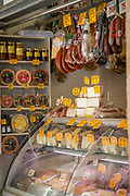 View of shop interior and groceries, Cadiz, Andalusia, Spain