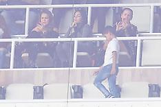 Georgina Rodriguez watches Cristiano Ronaldo play in Madrid - 23 Dec 2017