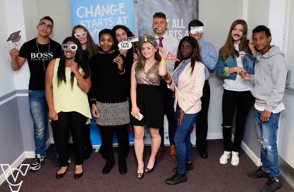 Cohort 2 - Team 1 | NCS EM1 graduation ceremony held at The Castle Theatre, Wellingborough, Northamptonshire.<br /> <br /> Picture: Chris Vaughan Photography<br /> Date: September 13, 2017