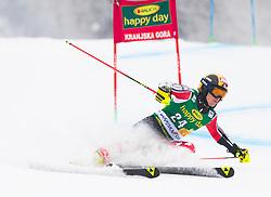 Erik Read of Canada during 1st run of Men's Giant Slalom race of FIS Alpine Ski World Cup 57th Vitranc Cup 2018, on 3.3.2018 in Podkoren, Kranjska gora, Slovenia. Photo by Urban Meglič / Sportida