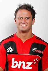 Matt Berquist. Crusaders Headshots. Investec Super Rugby, Rugby Park, Christchurch. Thursday 3 Febuary 2011 . Photo: Simon Watts/photosport.co.nz