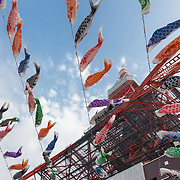 2019 Children's Festival Carp Flags at Tokyo Tower