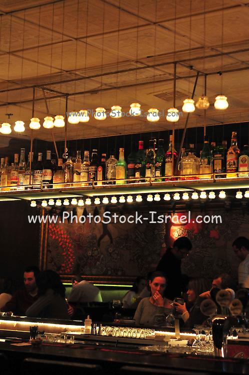 Israeli Nightlife, photographed in Haifa