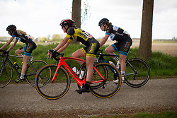 Lana Petit (NED) of Isorex Cycling Team rides mid-pack during the second lap of the Omloop van Borsele - a 107.1 km road race, starting and finishing in s'-Heerenhoek on April 22, 2017, in Borsele, the Netherlands.