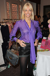 AMANDA CRONIN at a shopping afternoon hosted by Amanda Kyme and Tamara Beckwith featuring designs from Elizabeth Hurley held at the Cadogan Hotel, 75 Sloane Street, London SW1 on 23rd November 2010.