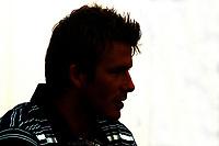Photo: Chris Ratcliffe.<br />England Press Conference. FIFA World Cup 2006. 13/06/2006.<br />David Beckham addresses the media.