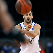 Anadolu Efes's Dogus BALBAY during their Two Nations Cup basketball match Anadolu Efes between Olympiacos at Abdi Ipekci Arena in Istanbul Turkey on Sunday 02 October 2011. Photo by TURKPIX