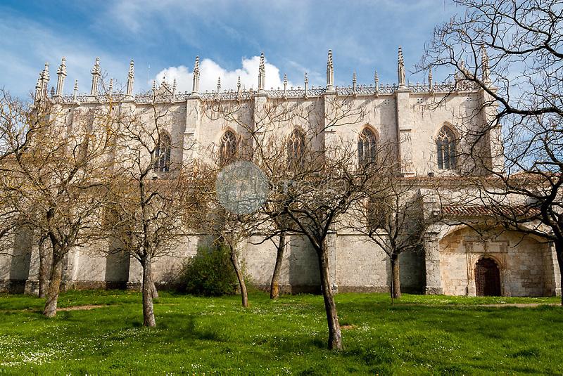 Fachada del Monasterio de Miraflores. Burgos. Castilla y Leon. España. Europa ©Javier Abad Country Sessions / PILAR REVILLA ©Country Sessions / PILAR REVILLA
