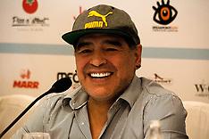 Maradona Press Conference - 4 July 2017