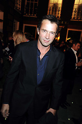 Actor JAMES PUREFOY at a party to celebrate the opening of the new home of Alfred Dunhill at Bourdon House, 2 Davies Street, London on 16th September 2008.