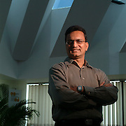 Ajay Kela, President and CEO at Wadhwani Foundation. He was the COO of Symphony Services, and this photograph was for Project Management Institute.