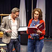 NLD//Amsterdam20160415 - Persdag toneelstuk In de Ban van Broadway, Martijn Nieuwerf en Marisa van Eyle