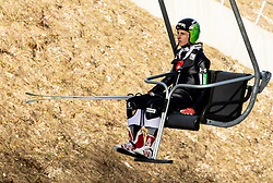 Jaka Hvala of Slovenia during the Ski Flying Hill Individual Competition at Day 2 of FIS Ski Jumping World Cup Final 2019, on March 22, 2019 in Planica, Slovenia. Photo by Masa Kraljic / Sportida