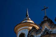 Ouro Preto_MG, Brasil...Detalhes da torre de uma igreja em Ouro Preto, Minas Gerais...Church tower in Ouro Preto, Minas Gerais...Foto: JOAO MARCOS ROSA / NITRO