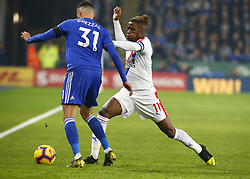 February 23, 2019 - Leicester, England, United Kingdom - Crystal Palace's Wilfried Zaha.during English Premier League between Leicester City and Crystal Palace at King Power stadium , Leicester, England on 23 Feb 2019. (Credit Image: © Action Foto Sport/NurPhoto via ZUMA Press)