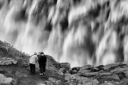 Dettifoss, waterfall north east of Iceland - Dettifoss