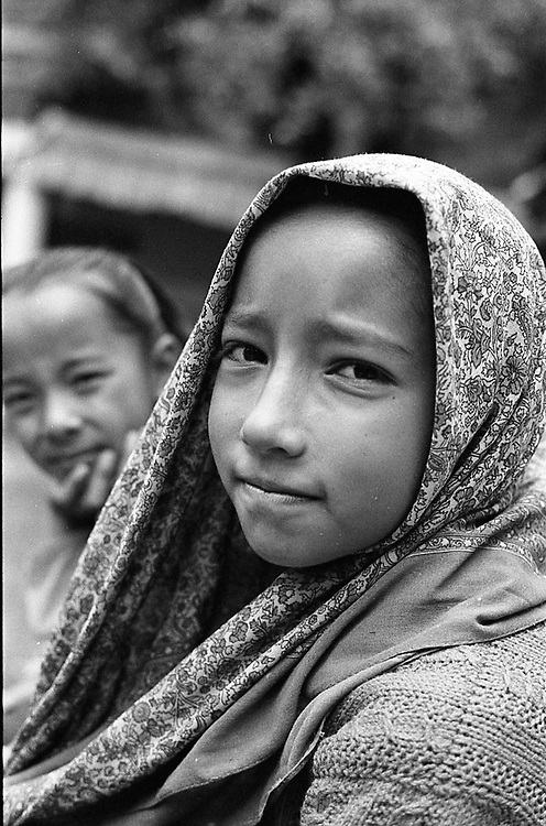 A young girl from Himachal Pradesh, India. Photo by Lorenz Berna