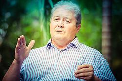 O presidente da Cotrijal, Nei César Mânica. Foto: Jefferson Bernardes/ Agência Preview