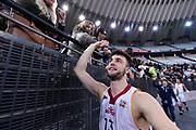 Tommaso Baldasso<br /> Virtus Roma - Benacquista Assicurazioni Latina<br /> Campionato Basket LNP 2018/2019<br /> Roma 16/01/2019<br /> Foto Gennaro Masi / Ciamillo-Castoria