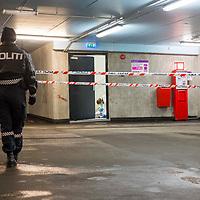 Kristiansand  20170206.<br /> En kvinne er kjørt til sykehus med ukjent skadeomfang etter en alvorlig voldsepisode i et parkeringshus på Odderøya i Kristiansand.<br /> Foto: Tor Erik Schrøder / NTB scanpix