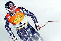 Alpint ,  VAL D ISERE,FRANKREICH,10.DEZ.05 - SKI ALPIN - FIS Weltcup, Abfahrt der Herren. Bild zeigt Aksel Lund Svindal (NOR). <br /> Foto:  Andreas Troester, Digitalsport<br /> Norway only