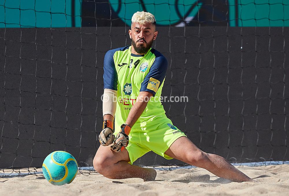 NAZARE, PORTUGAL - MAY 31: Alfio Tomasello Gaetano of Atletico Licata BS during the Euro Winners Challenge Nazaré 2019 at Nazaré Beach on May 31, 2019 in Nazaré, Portugal. (Photo by Jose M. Alvarez)