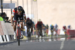 February 15, 2018 - Muscat, Oman - VAN AVERMAET Greg  (BEL)  of BMC Racing Team during stage 3 of the 9th edition of the 2018 Tour of Oman cycling race, a stage of 179.5 kms between German University of Technology and Wadi Dayqah Dam on February 15, 2018 in Muscat, Sultanate Of Oman, 15/02/2018 (Credit Image: © Panoramic via ZUMA Press)