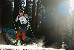 Martin Otcenas (SVK) during the Men 20 km Individual Competition at day 1 of IBU Biathlon World Cup 2019/20 Pokljuka, on January 23, 2020 in Rudno polje, Pokljuka, Pokljuka, Slovenia. Photo by Peter Podobnik / Sportida