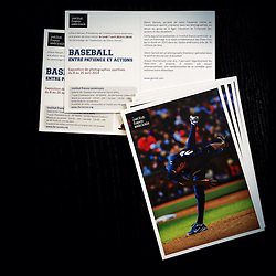 Matt Garza, Photographic exhibition Invitation cards, French American Institute, 2014.