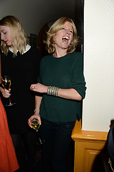RACHEL JOHNSON at an exhibition of the 50 best party pictures from Tatler from the past 50 years, held at Annabel's, Berkeley Square, London on 9th September 2013.