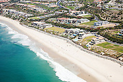 Aerial Stock photo of The Strand at Headlands