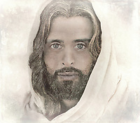 """""""A million faces of Jesus by Dino Carbetta - Transparent""""...<br /> <br /> Daniel 10: 5-6 """"As I looked up, I saw a man dressed in linen with a belt of fine gold around his waist. His body was like chrysolite, his face shone like lightning, his eyes were like fiery torches, his arms and feet looked like burnished bronze, and the sound of his voice was like the roar of a multitude."""" Genesis 1:27 """"God created mankind in his image; in the image of God he created them; male and female he created them."""" Since early childhood, my fascination with the face of Christ resulted in a multitude of sketches, drawings, and photographs. Today, my mind's eye continues this perception in wonderment. I yearn to see, feel and touch this beatific vision. Blessed with humble skills, this is my current vision after three years of introspection and change of the face of Christ. I know that in heaven the just will see God by direct intuition, clearly and distinctly. Scripture and theology tell us that the blessed see God face to face. And because this vision is immediate and direct, it is also exceedingly clear and distinct. The blessed see God, not merely according to the measure of His likeness imperfectly reflected in creation, but they see Him as He is, after the manner of His own Being. 1 Corinthians 13:12 """"At present, we are looking at a confused reflection in a mirror; then, we shall see face to face; now, I have only glimpses of knowledge; then, I shall recognize God as he has recognized me."""""""