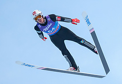 31.12.2017, Olympiaschanze, Garmisch Partenkirchen, GER, FIS Weltcup Ski Sprung, Vierschanzentournee, Garmisch Partenkirchen, Qualifikation, im Bild DanielAndre Tande (NOR) // DanielAndre Tande of Norway during his Qualification Jump for the Four Hills Tournament of FIS Ski Jumping World Cup at the Olympiaschanze in Garmisch Partenkirchen, Germany on 2017/12/31. EXPA Pictures © 2017, PhotoCredit: EXPA/ Jakob Gruber
