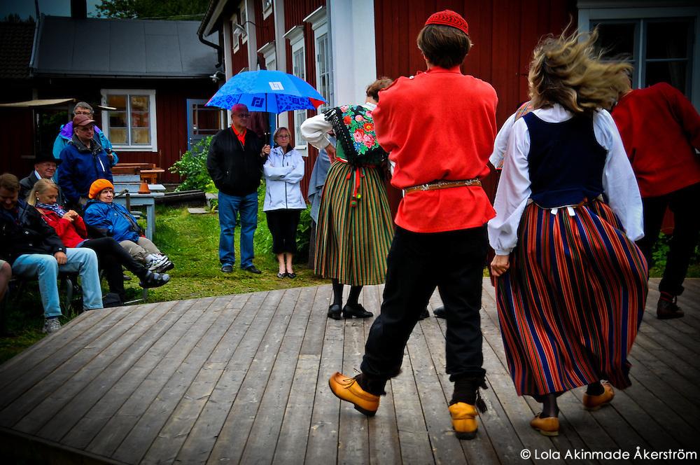 Spelmansstämma - Traditional folk dancing at Gammelstad