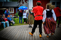Spelmansstämma - Traditional folk dancing at Gammelstad