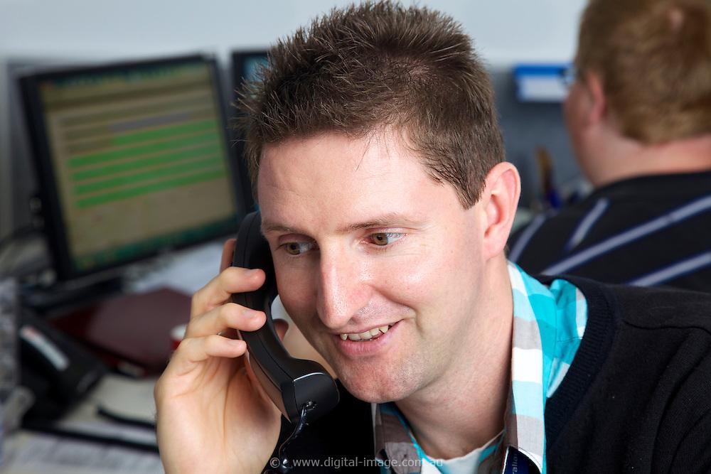 Scott Kendall, User Office, at the Australian Sychrotron