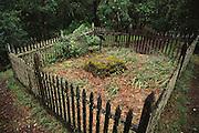 Jack London State Historical Park, in Glen Ellen, California (Sonoma County). Jack London's grave.