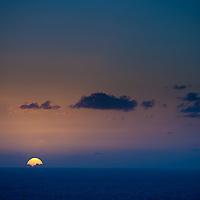 Sunrise in Pahoa, Hawaii.