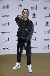 April 12, 2018 - Berlin, Germany - Lukas Rieger.Echo Pop Verleihung, Berlin, Germany - 11 Apr 2018.Credit: MichaelTimm/face to face (Credit Image: © face to face via ZUMA Press)